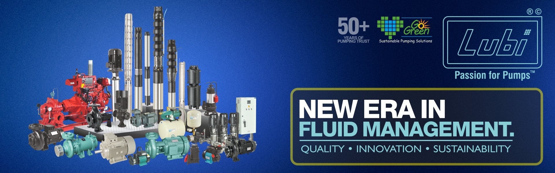 Lubi pumps Products