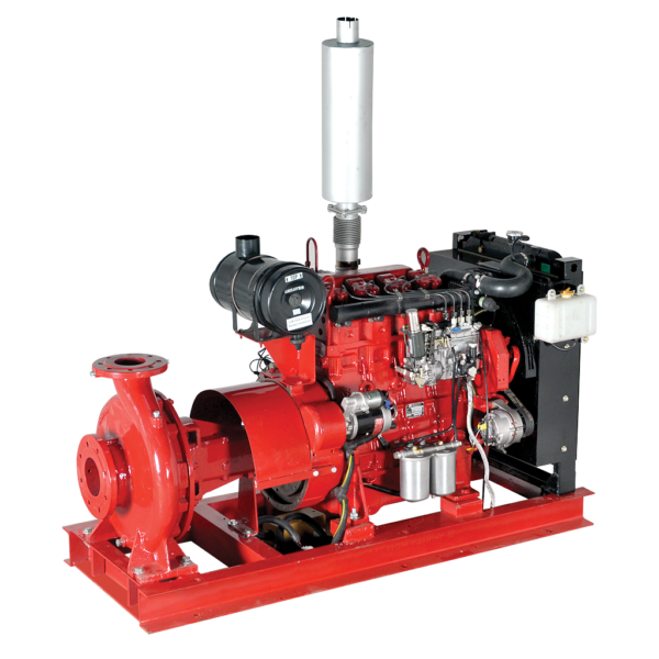end suction long coupled diesel driven fire pumps LBSD